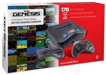 SEGA Retro Genesis Modern, Игровая приставка + 170 встроенных игр